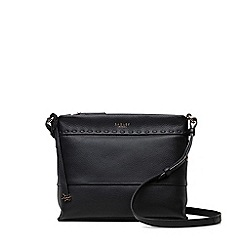 Radley - Hampstead heath black medium multi-compartment cross body bag
