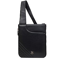 Radley - Black pockets medium ziptop crossbody bag