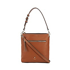 Fiorelli - Tan 'Elliot' satchel bag