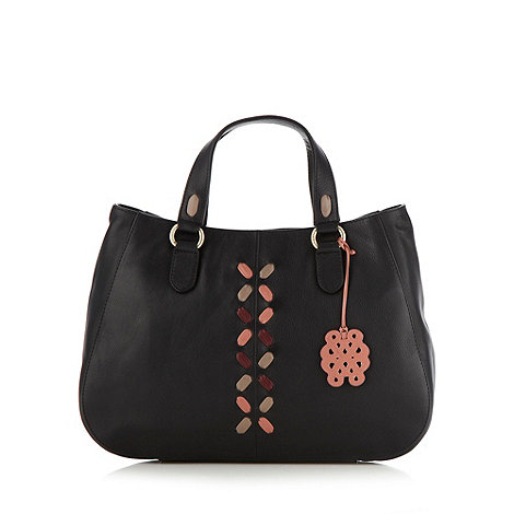 Bailey & Quinn - Black 'glastonbury' soft leather tote bag
