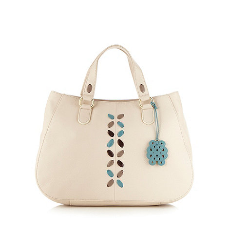 Bailey & Quinn - Cream +glastonbury+ soft leather tote bag