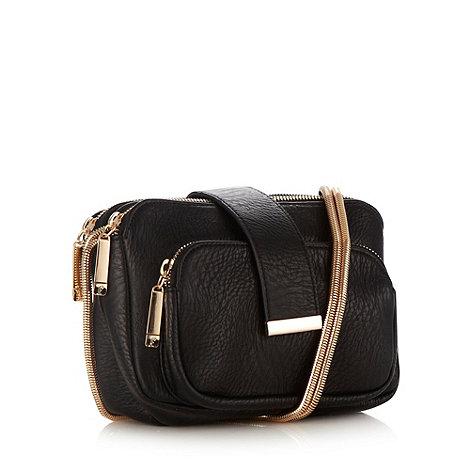 Faith - Black snake chain shoulder bag
