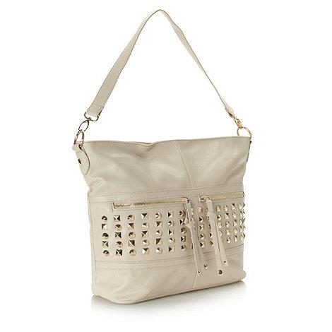 Call It Spring - Beige +enrogele+ shoulder bag
