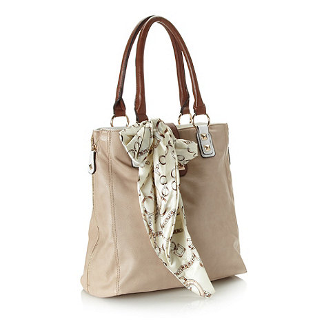 Call It Spring - Beige 'dahlem' scarf shoulder bag