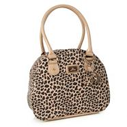 Natural glitter animal shoulder bag