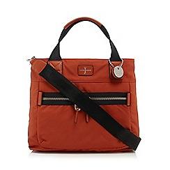 J by Jasper Conran - Orange large slouch tote bag
