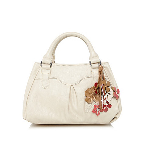 The Collection - Cream applique grab bag