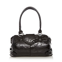 The Collection - Black chain bow trim shoulder bag