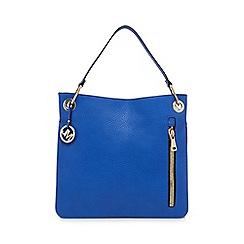 Star by Julien Macdonald - Blue zip detail shoulder bag