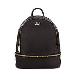 Star by Julien Macdonald - Black satin backpack