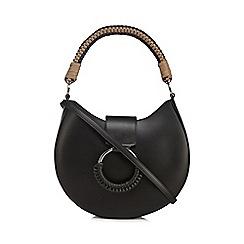 RJR.John Rocha - Black woven handle shoulder bag