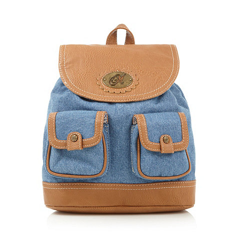 Mantaray - Blue denim backpack