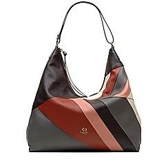 Radley - Oxleas - patchwork large zip-top hobo bag