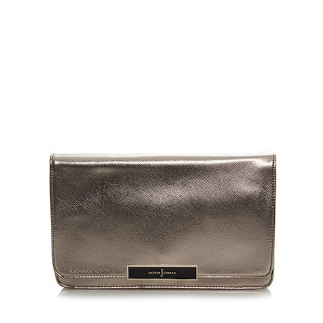 J by Jasper Conran - Designer gold metallic clutch bag