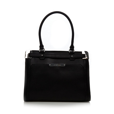 J by Jasper Conran - Designer black metal corner tote bag