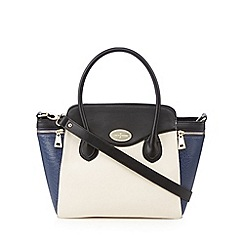 J by Jasper Conran - Designer navy large winged grab bag