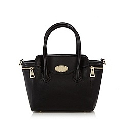 J by Jasper Conran - Designer black small winged grab bag
