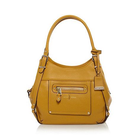 J by Jasper Conran - Designer mustard three section shoulder bag