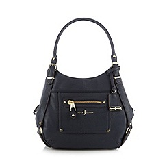 J by Jasper Conran - Designer navy front pocket grab bag