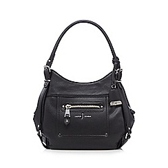 J by Jasper Conran - Black grained grab bag