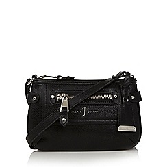 J by Jasper Conran - Designer black studded trim cross body bag