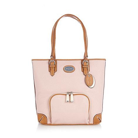 J by Jasper Conran - Designer pink panel shopper bag