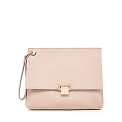 Faith - Light pink clutch bag