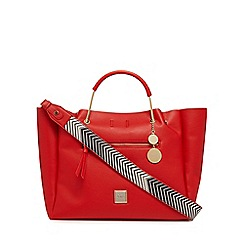 Faith - Red winged slough large tote bag