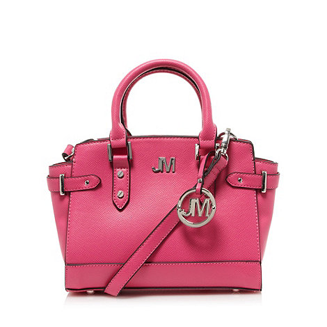Star by Julien Macdonald - Designer pink textured small grab bag