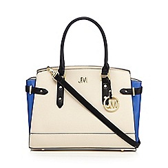 Star by Julien Macdonald - Designer bright blue large winged tote bag