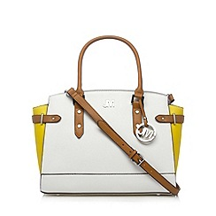 Star by Julien MacDonald - Designer white large winged tote bag