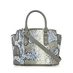 Star by Julien MacDonald - Designer blue snakeskin grab bag