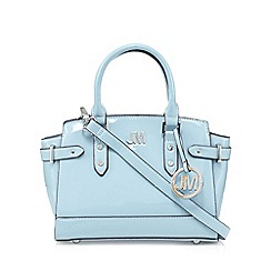 Star by Julien MacDonald - Designer pale blue patent winged mini grab bag