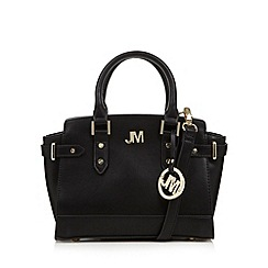 Star by Julien MacDonald - Designer black winged mini grab bag