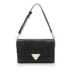 Marc B - Black 'Tina' triple compartment shoulder bag