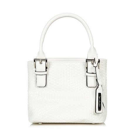 Principles by Ben de Lisi - Designer white weave grab bag