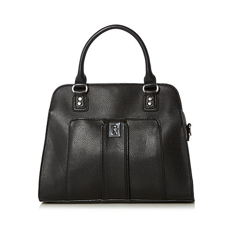 Principles by Ben de Lisi - Designer black slot pocket tote bag