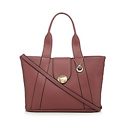 The Collection - Rose circle detail tote bag
