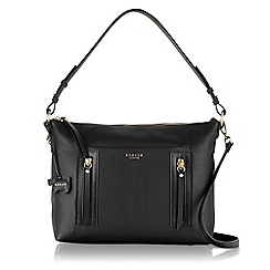 Radley - Medium black leather 'Northcote Road' multiway bag
