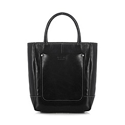 O.S.P OSPREY - Black coated leather grab bag