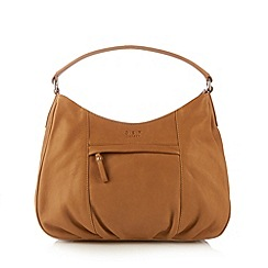 O.S.P OSPREY - Tan leather 'Murano' shoulder bag