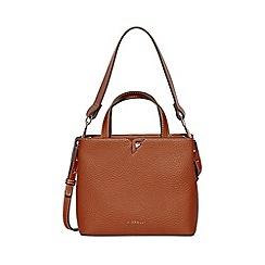 Fiorelli - Tan argyle grab shoulder bag