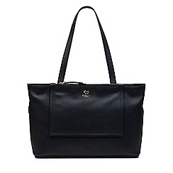 Radley - Large leather 'farthing down' tote bag