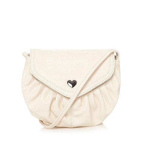 Red Herring - Cream mini pouch across body bag
