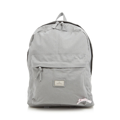 Red Herring - Grey pastel backpack