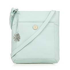 Bailey & Quinn - Turquoise 'Cumbria' small leather cross body bag
