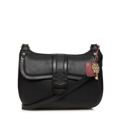 Bailey & Quinn Black ´Alice´ leather cross body bag - . -