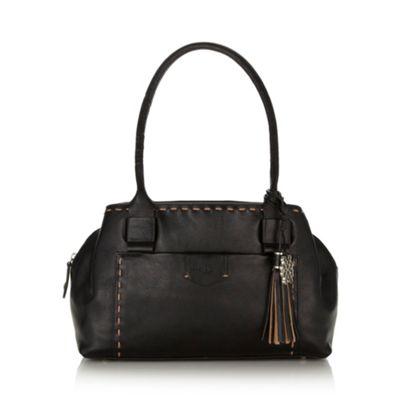 Bailey & Quinn Black ´Hampton Court´ leather shoulder bag - . -