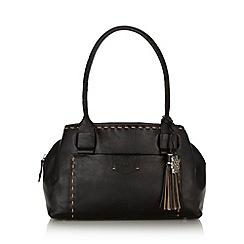 Bailey & Quinn - Black 'Hampton Court' leather shoulder bag