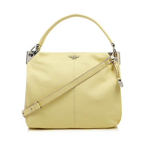 Fiorelli - Pale yellow large hobo bag
